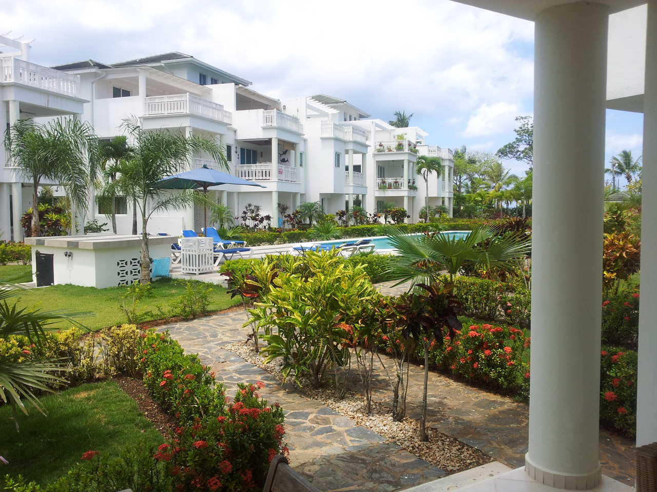 RESALE - 1 BED CONDO - GROUND FLOOR - PUNTA POPI, LAS TERRENAS - A486LT
