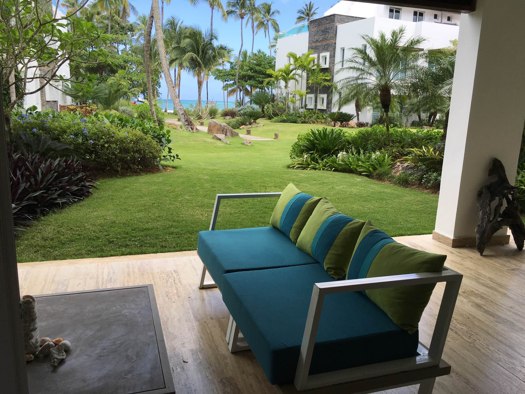 EXCLUSIVE BRAND NEW LISTING : 2 BED 2 BATH BEACH CONDO, PLAYA BONITA - A562LT