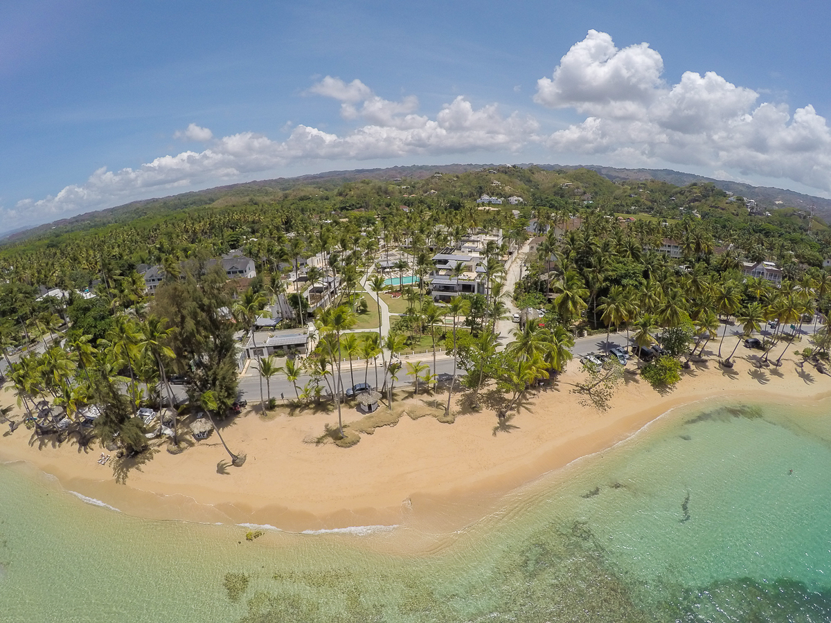 LUXURY APARTMENTS from 224m2 - in the heart of Las Terrenas, facing the beach of Punta Popy! FROM $299,000 USD - A552LT