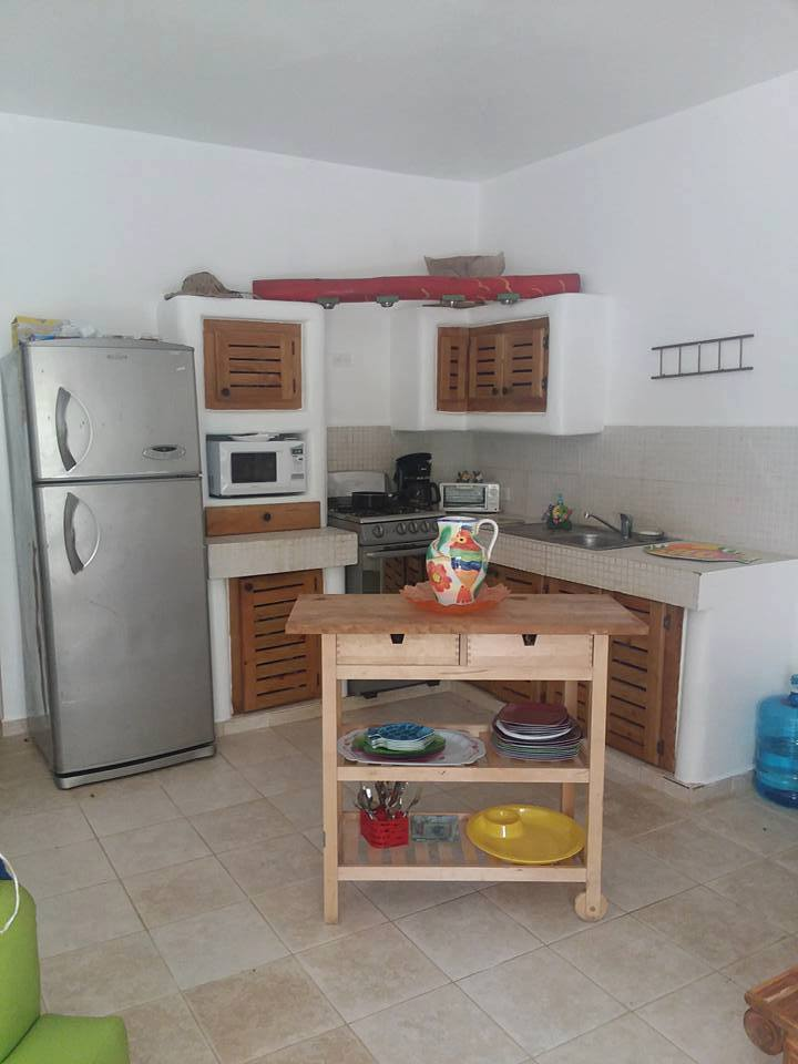 RENTAL : 2 BED CASITA - CENTRAL LAS TERRENAS - $65 / NIGHT OR $400 / MONTH (1 YEAR)