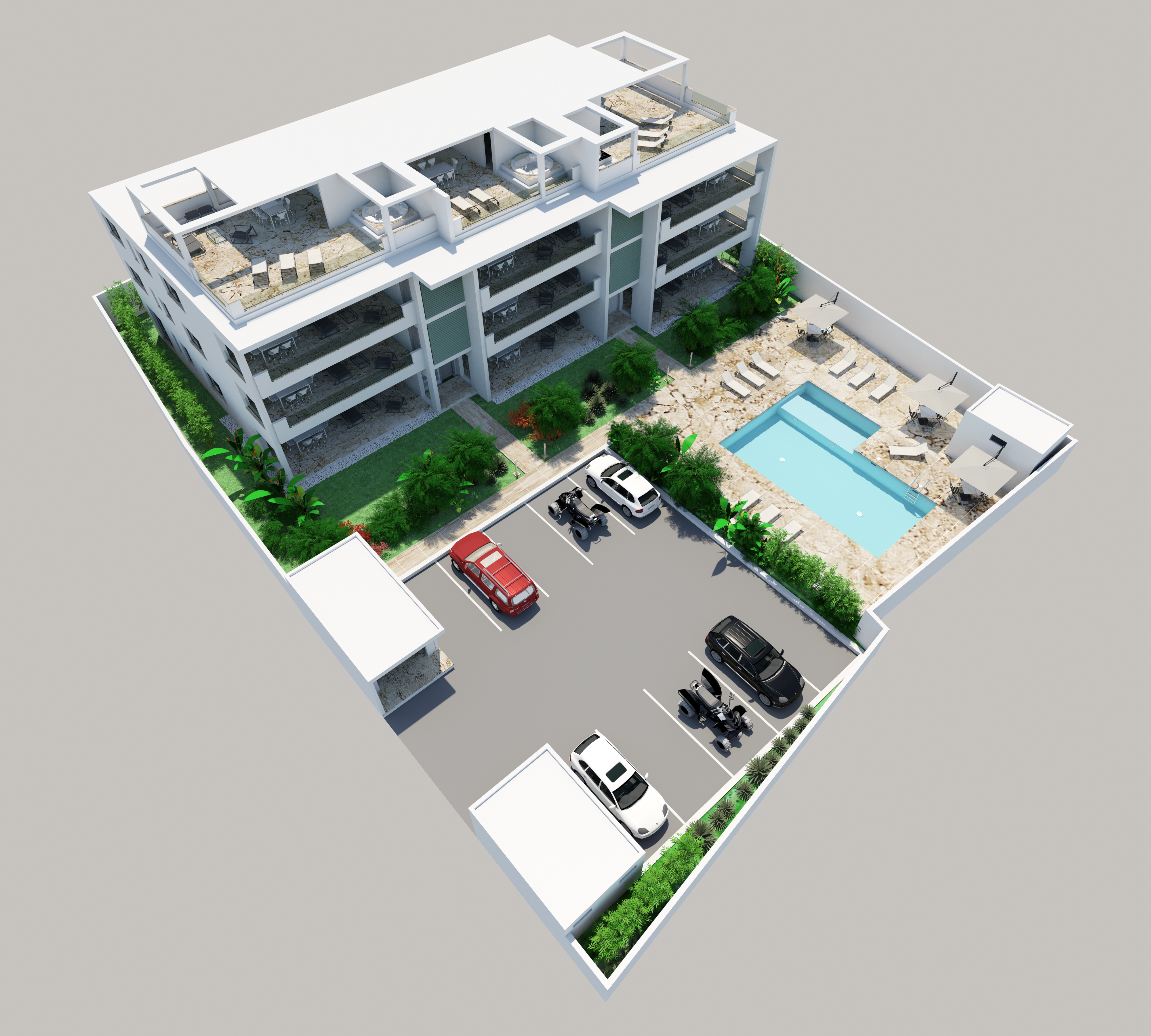 STELLA APART-HOTEL : 2 & 3 BED CONDOS FROM $274,000 USD