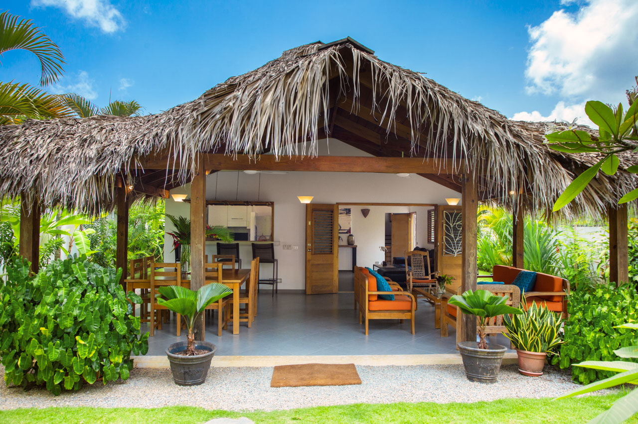 Gorgeous Caribbean Villa in small pretty complex close to beach and town